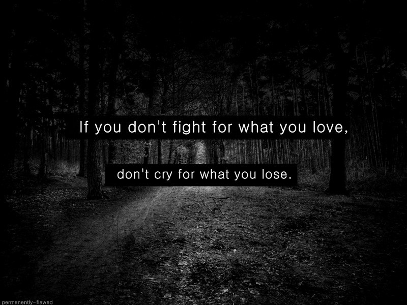 Quotes about Dark love (151 quotes)