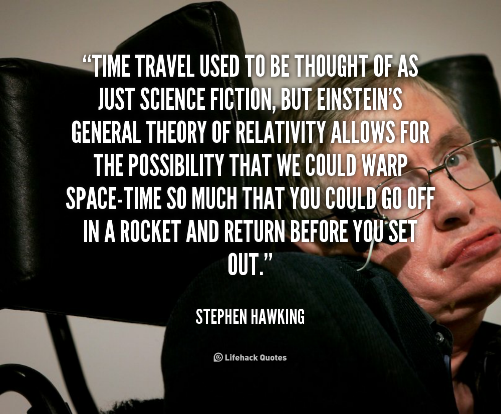 quotes about time travel quotes
