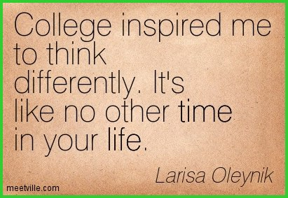 Quotes about College life and friends (15 quotes)