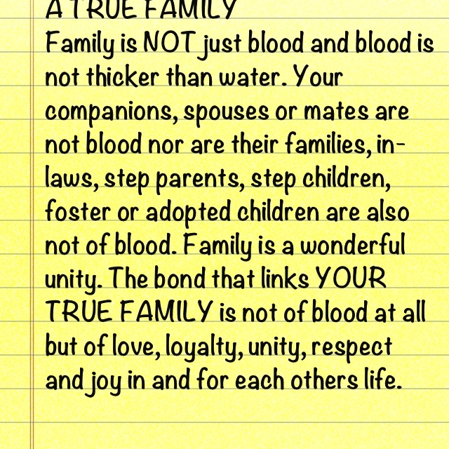 Quotes about Family unity and love (14 quotes)