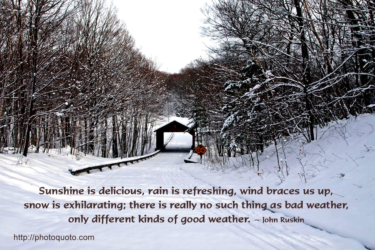 Quotes about Fine weather 30 quotes