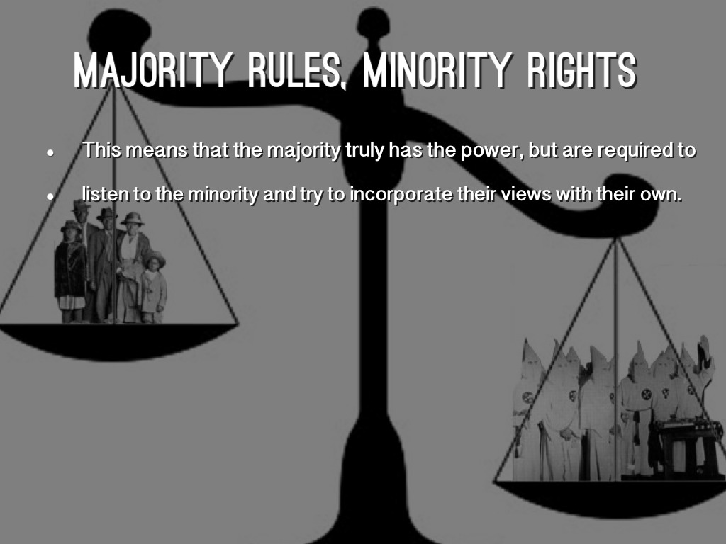 minority and majority rights essay This essay has been submitted by a law student this is not an example of the work written by our professional essay writers a proper balance of the rights of majority and minority shareholders.