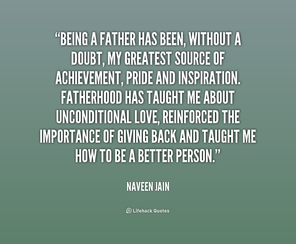 Being Father For The First Time Quotes