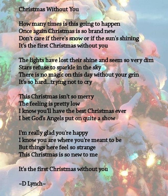 First christmas without a loved one
