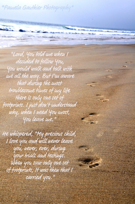Quotes About Footprints In The Sand 43 Quotes
