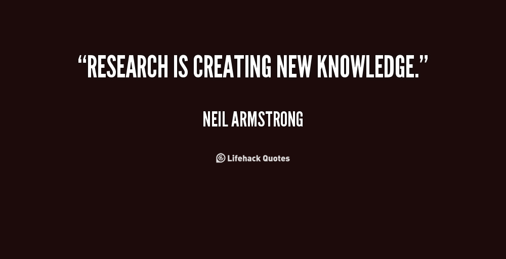 Quotes About Research 553 Quotes