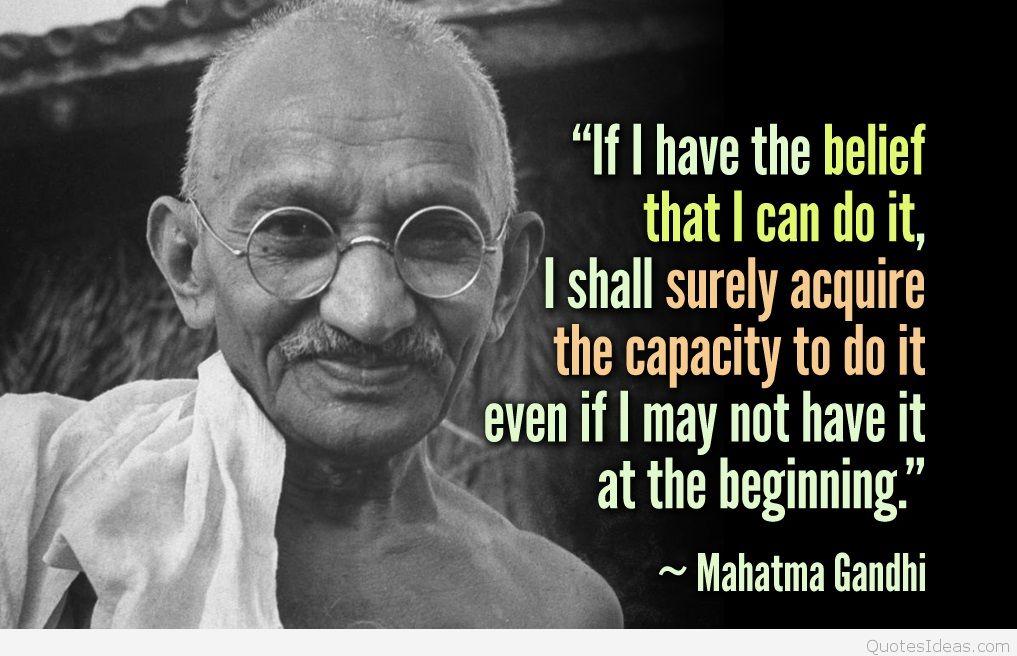 Quotes about Faith gandhi 45 quotes
