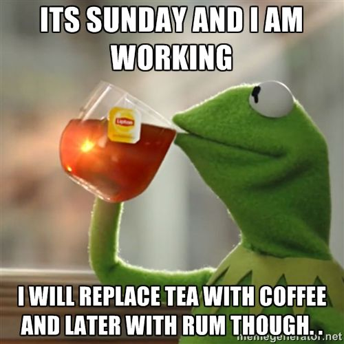 Quotes About Working On Sunday (33 Quotes