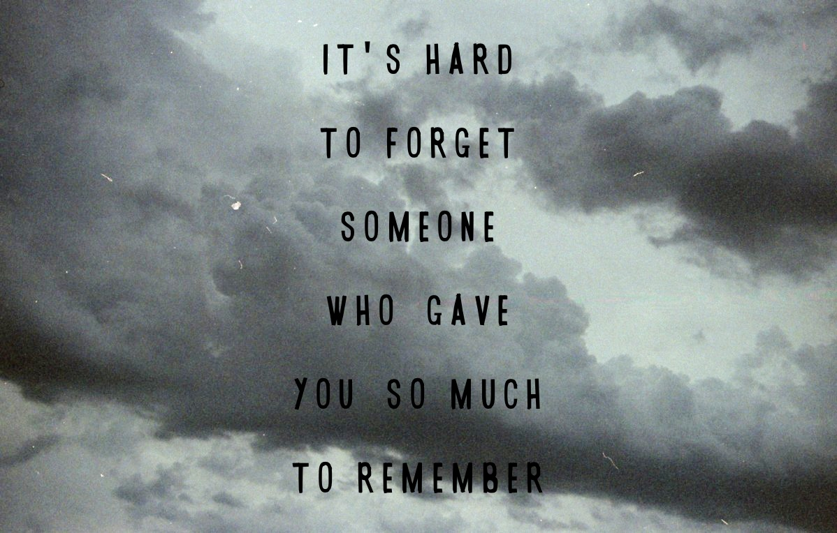 Quotes about I remember you (4 quotes)