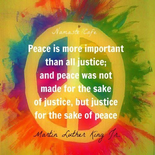 peace and justice essay
