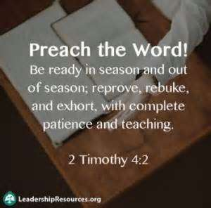 Quotes about Preachers The Word (40 quotes)