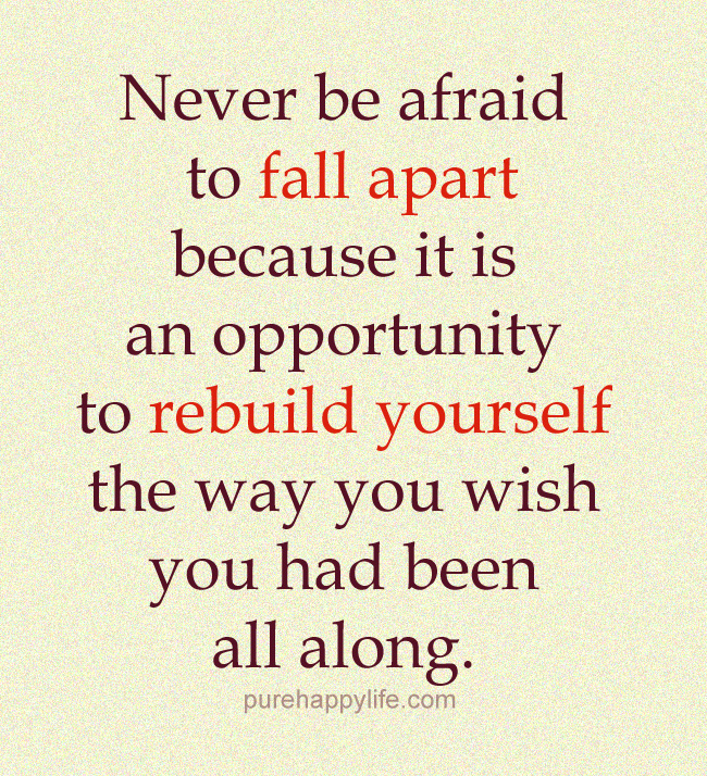 Quotes about Relationship falling apart (22 quotes)