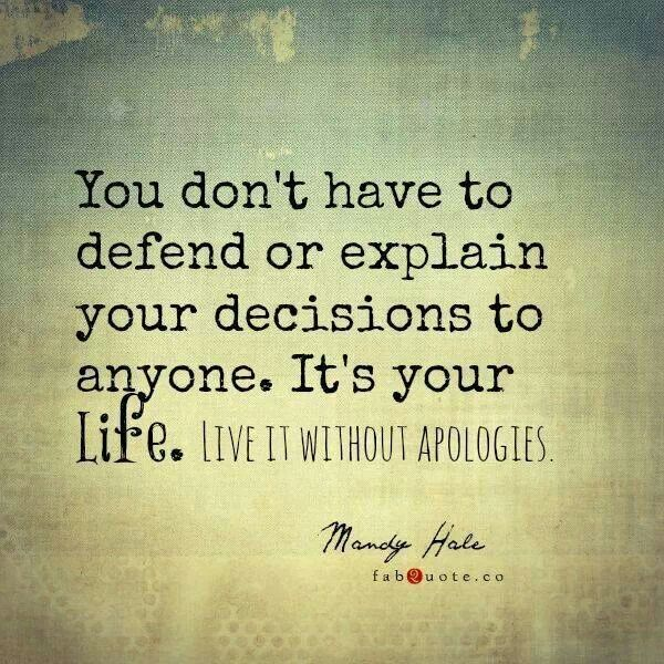 Quotes about life with explanation