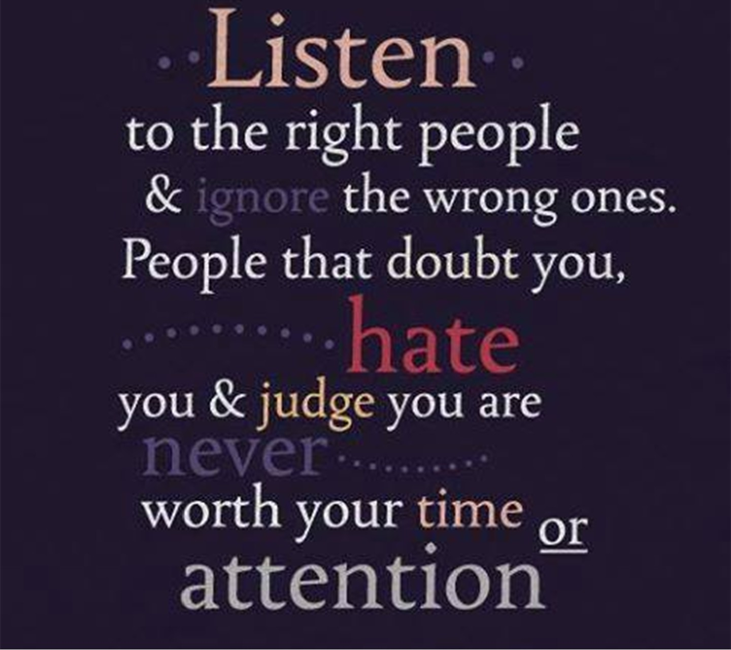 why ignoring other people can never be justified Other people ghost when they feel friends are being consistently disrespectful and unsupportive another person we spoke to had surgery and was expecting emotional support from a friend she had been there for many times.