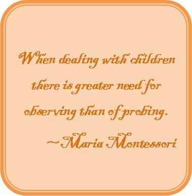 montessori purpose of education essay