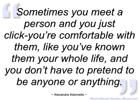 Quotes About Just Meeting 57 Quotes