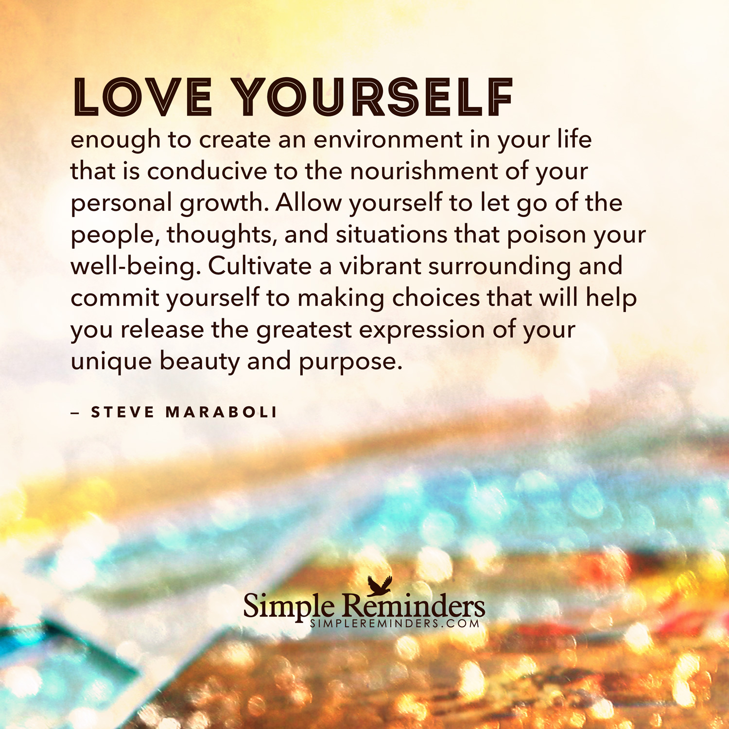 Quotes Of Loving Yourself Quotes About Loving Environment 44 Quotes