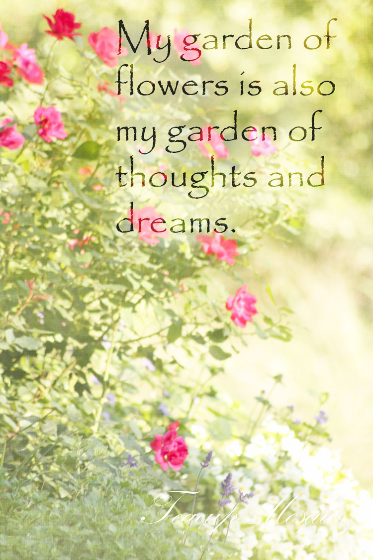 Quotes About Flower Garden