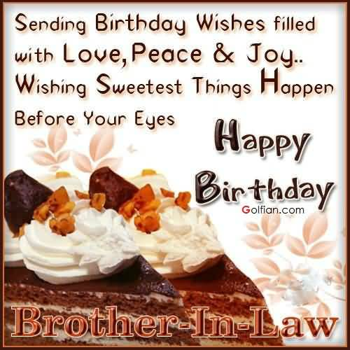 Golfian 75 Best Birthday Greetings For Brother In Law Beautiful Wish Images