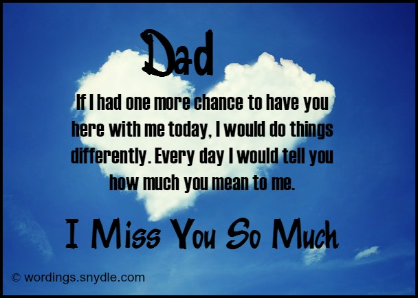 Quotes about Dad who died (30 quotes)
