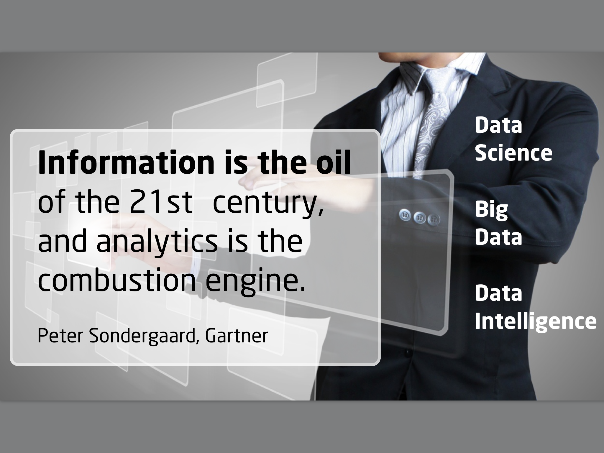 Quotes about Data analytics (25 quotes)
