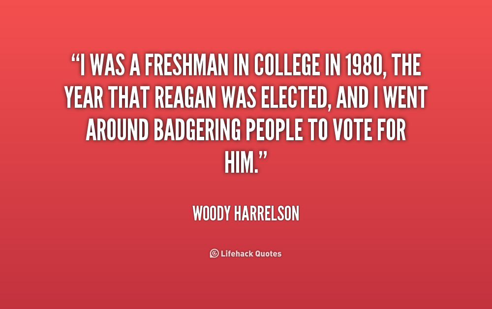 Quotes about Freshman (120 quotes)