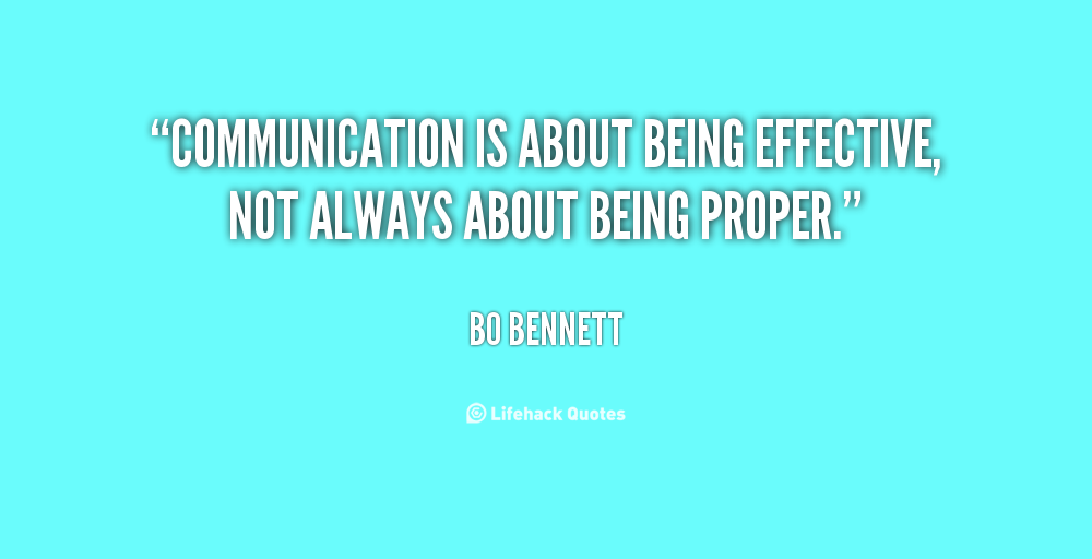 the importance of communications and being Your ability to communicate comes from experience, and experience can be an  effective teacher, but this text and the related business communication course.