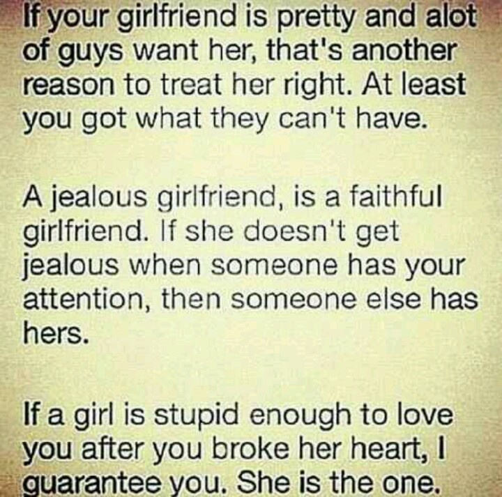 Quotes about Treating your girlfriend right (14 quotes)