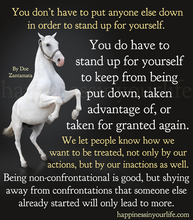Quotes About Standing For Yourself 34 Quotes