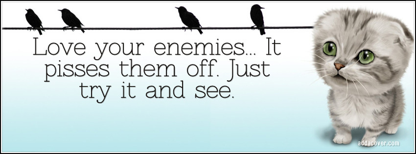 quotes about love your enemy quotes