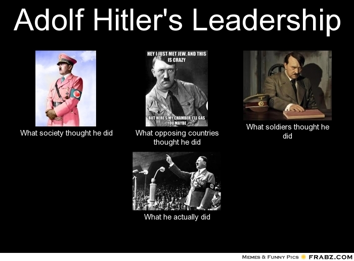 Jew Detector: Quotes About Leadership Hitler (35 Quotes