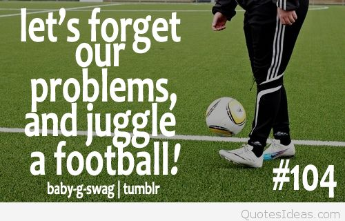 Quotes about Sports football (101 quotes)