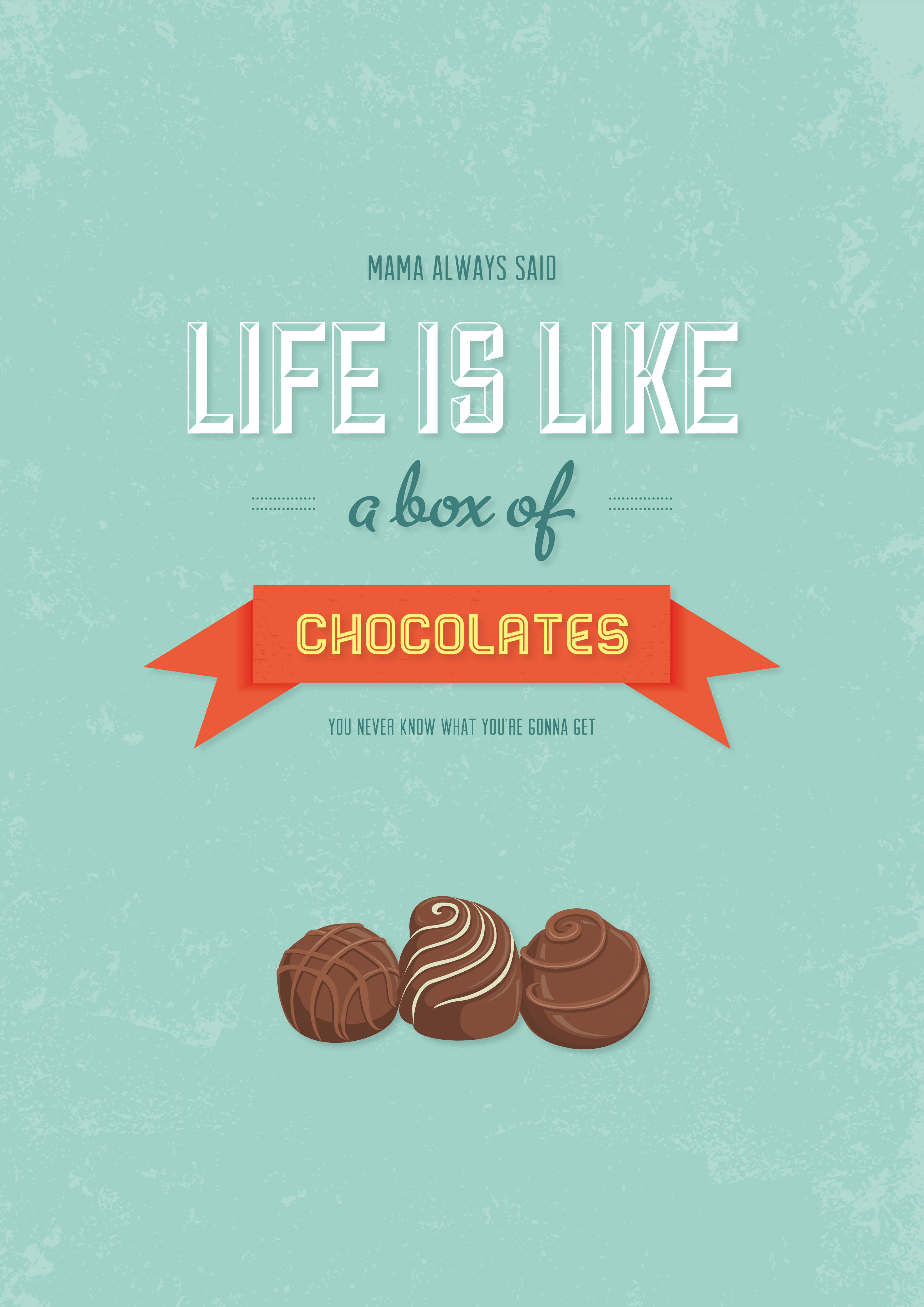 Quotes about Box of chocolates (52 quotes)