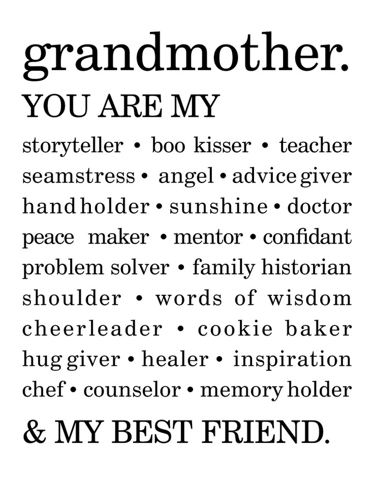 Quotes about Grandmother love 56 quotes