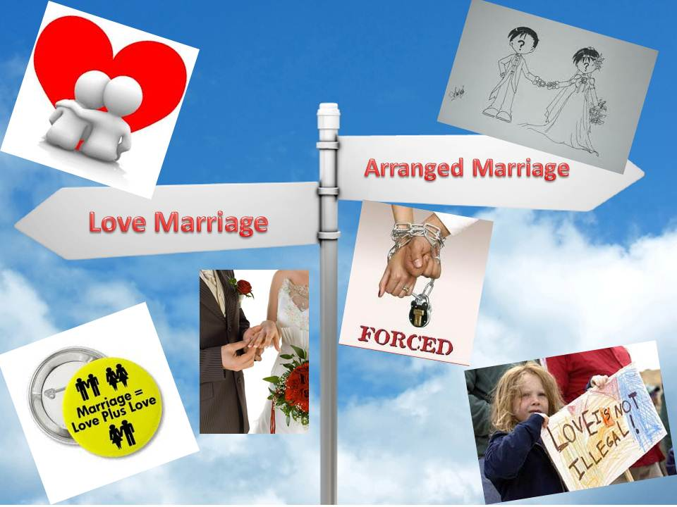 essays on love marriage vs arranged marriages Marriage, culture, human institutions - love vs arranged marriage.