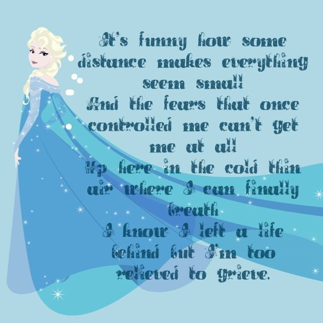 Phenomenal Frozen Quotes Page 3 The Best Quotes Reviews Personalised Birthday Cards Paralily Jamesorg