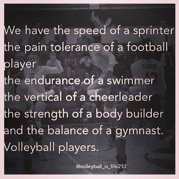 Quotes about Good volleyball player (21 quotes)
