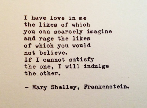 an analysis of the character of the monster in frankenstein by mary shelley