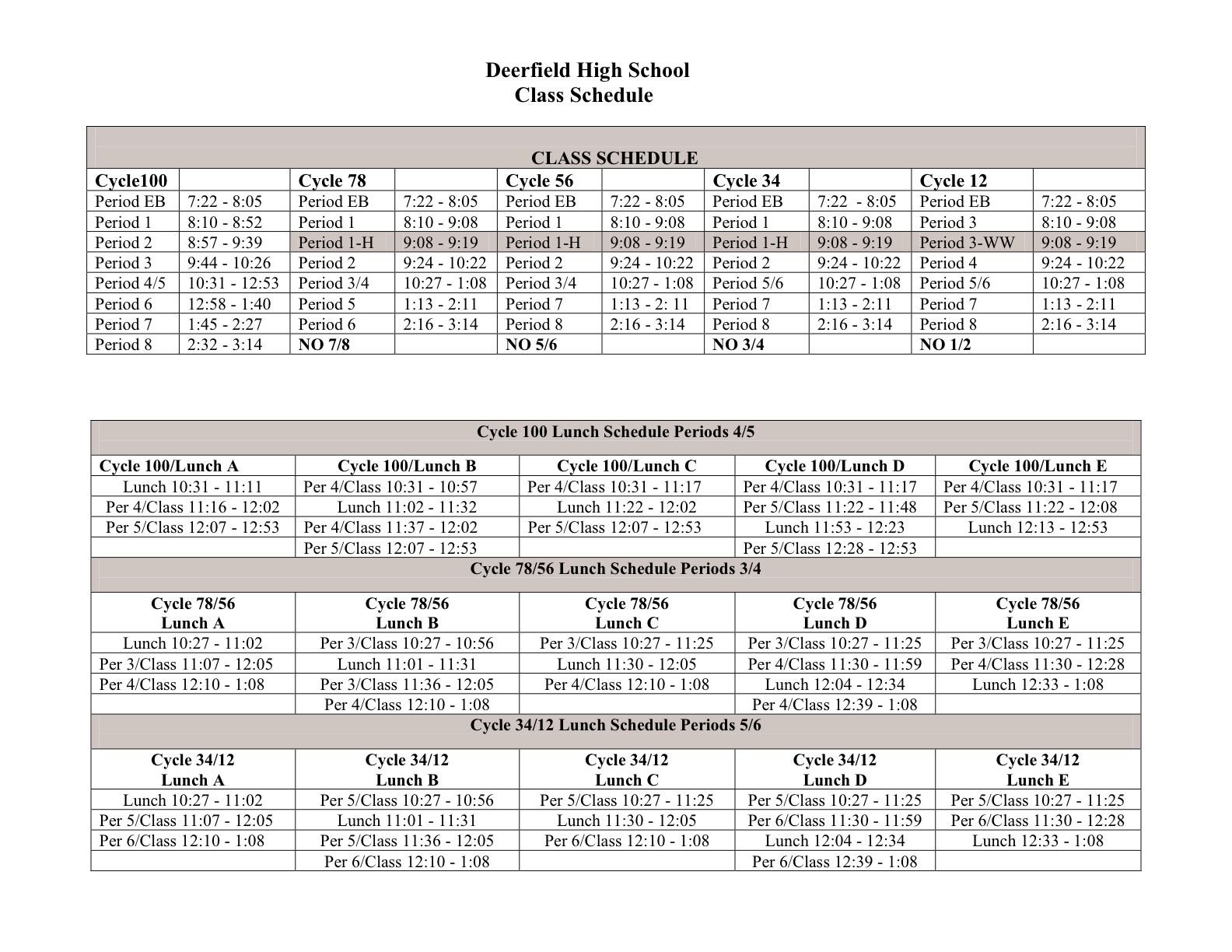 Block Schedule Template. free schedules for excel daily schedules ...