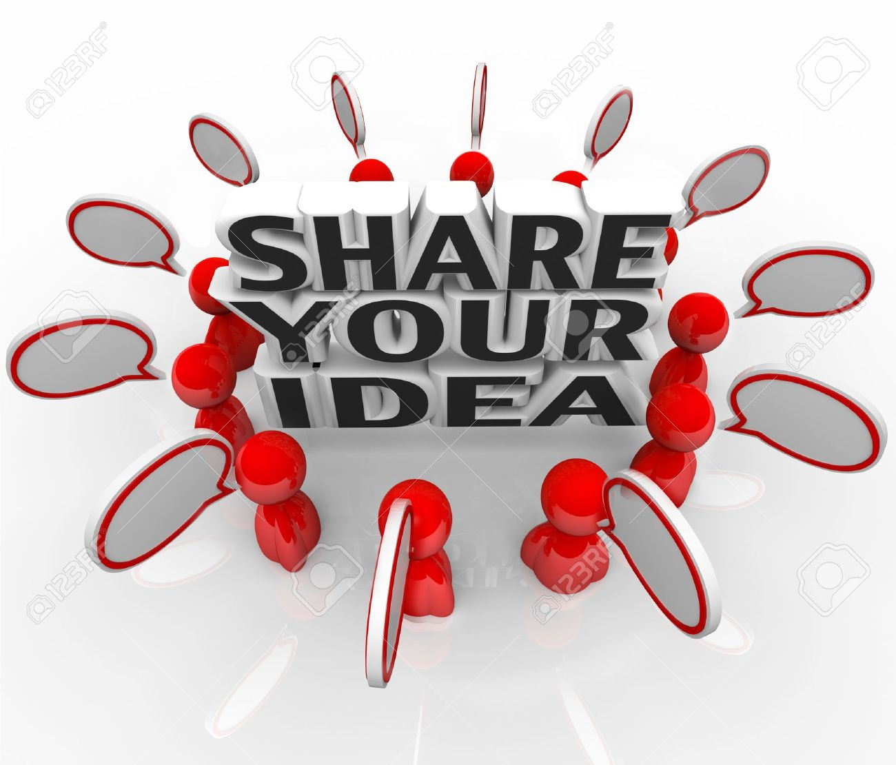 Quotes About Share Your Ideas 42