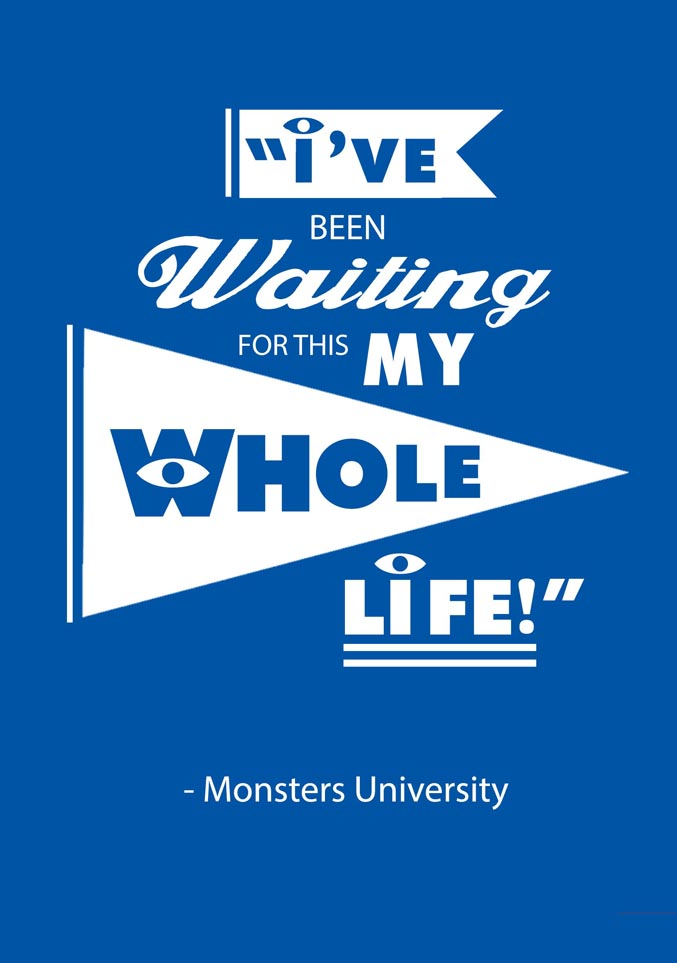 Quotes about starting university 48 quotes monsters university voltagebd Choice Image