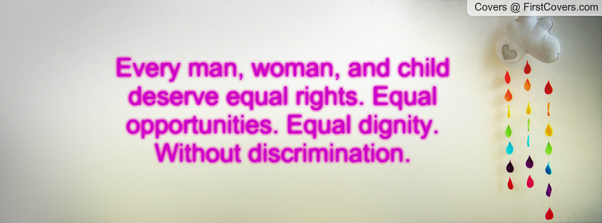 essay on men and women have equal rights