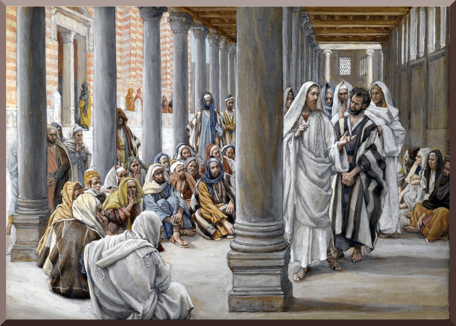 the temple and synagogues in jesus' Jesus is stated to have visited the temple in jerusalem, where the courtyard is described as being filled with livestock, merchants, and the tables of the money changers, who changed the standard greek and roman money for jewish and tyrian money.