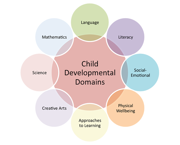 the different stages of a childs development life