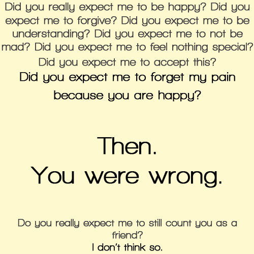 Quotes about Ex best friends (18 quotes)