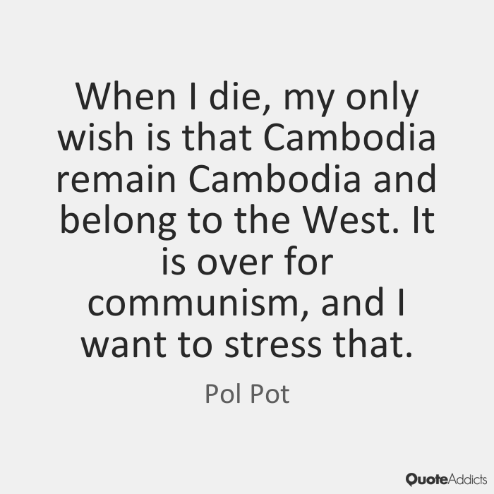 Quotes About Pot 60 Quotes Stunning Pol Pot Quotes