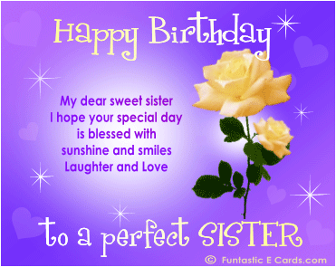 Quotes about My sister birthday (28 quotes)