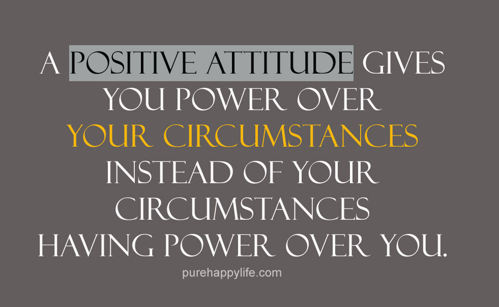 Quotes About Attitude Inspiration 33 Quotes