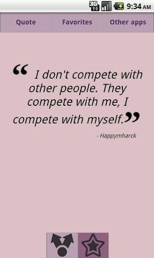 Quotes About Competition With Others 60 Quotes