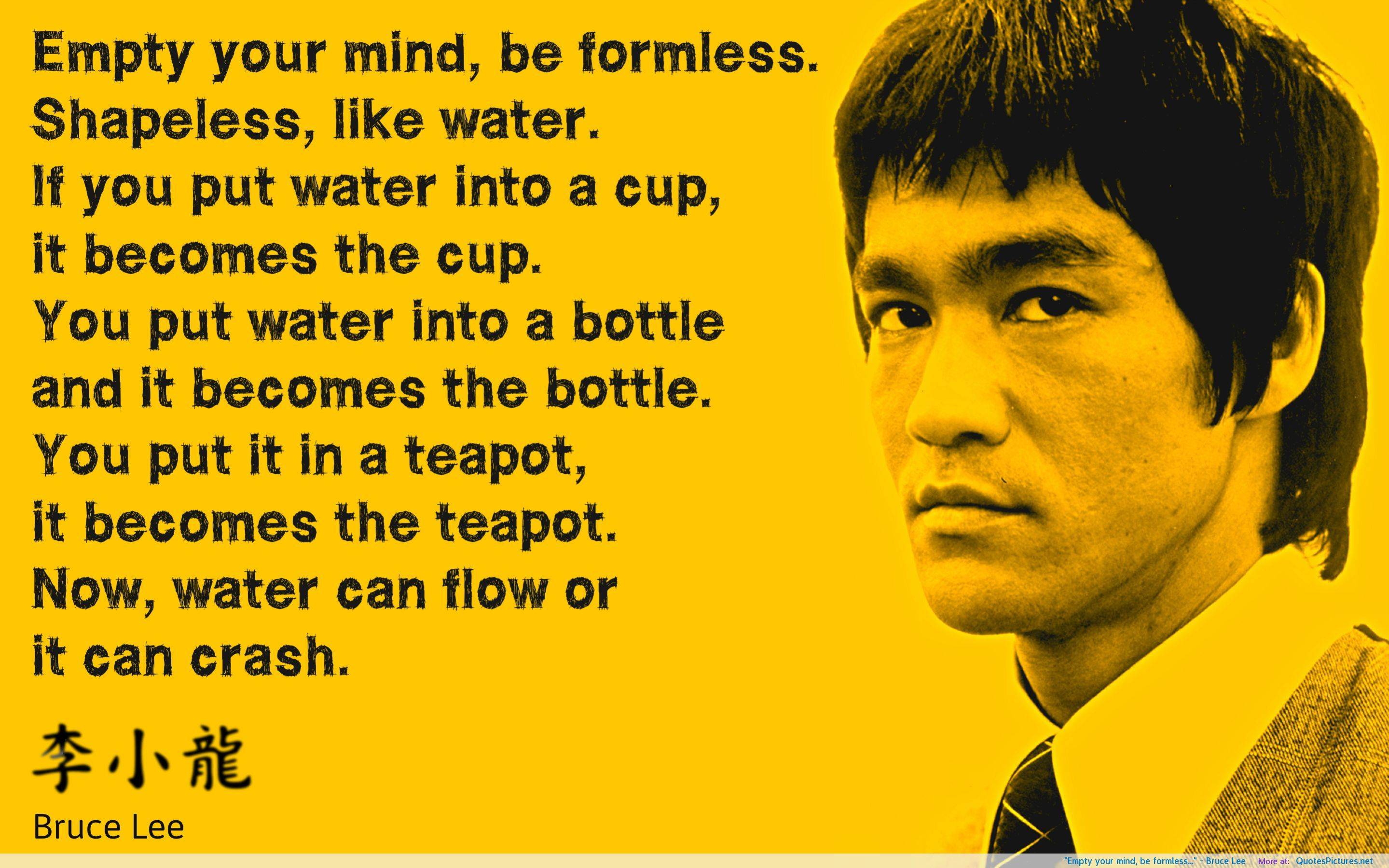 Quotes about Bruce Lee (107 quotes)